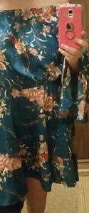 FINAL SALE! NWT Plus, Off the shoulder short dress